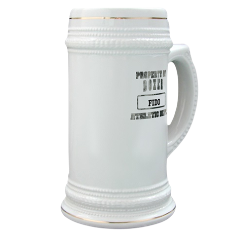 Personalized Boxer Stein