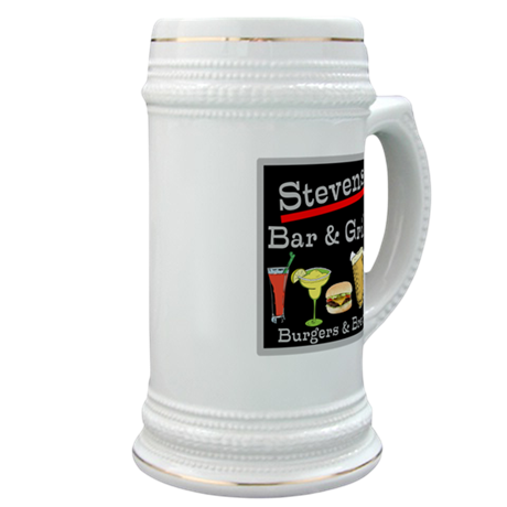 Personalized Bar and Grill Stein