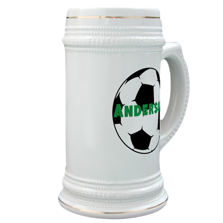 Personalized Soccer Stein