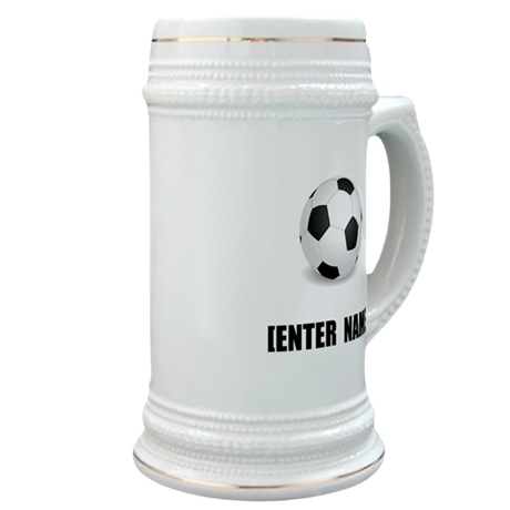 Soccer Personalize It! Stein