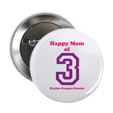 "Personalized Mother 2.25"" Button (10 pack)"