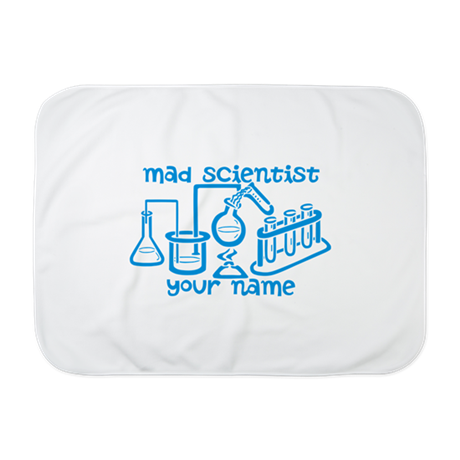 Personalized Mad Scientist Baby Blanket