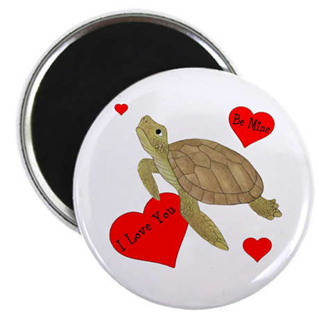 "Personalized Turtle 2.25"" Magnet (10 pack)"