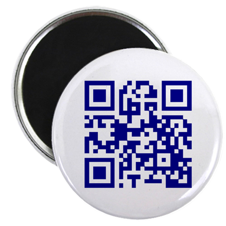 "My own QR 2.25"" Magnet (10 pack)"