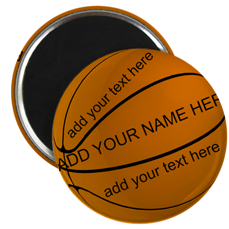 "Basketball 2.25"" Magnet (10 pack)"
