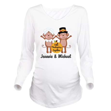 Personalized 1st Thanksgiving Together Long Sleeve
