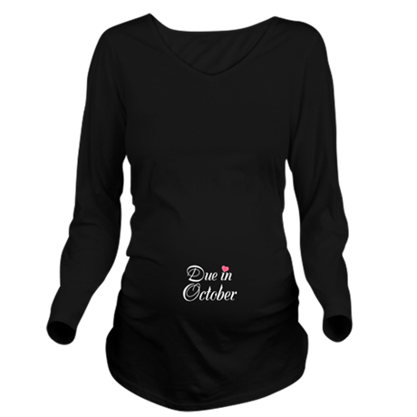 Due in (Write in the Month) Long Sleeve Maternity