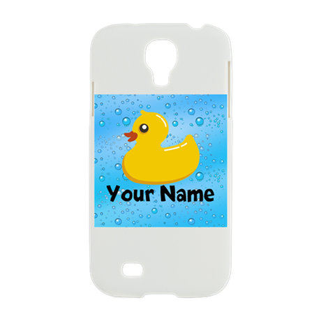 Personalized Rubber Ducky Samsung Galaxy S4 Case