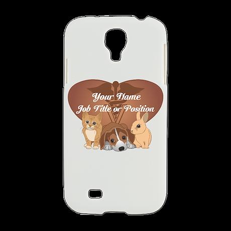 Personalized Veterinary Samsung Galaxy S4 Case