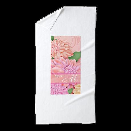 hydrangeas personalized beach towel by cupcakesandsprinklesbirthdaytees. Black Bedroom Furniture Sets. Home Design Ideas