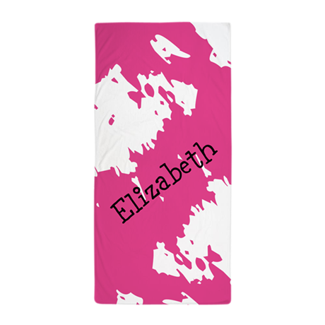 Abstract Personalized Towel