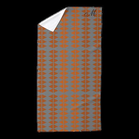 cute chic pattern beach towel by technotextnl. Black Bedroom Furniture Sets. Home Design Ideas
