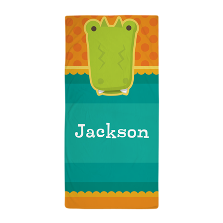 Personalized Alligator Towel