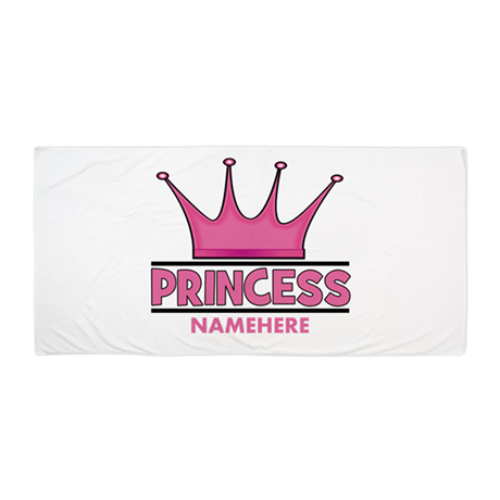Custom Princess Beach Towel