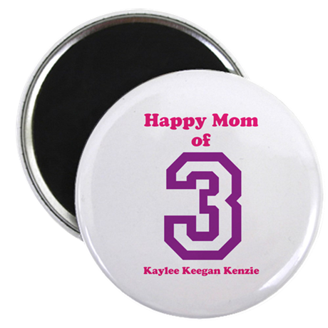 "Personalized Mother 2.25"" Magnet (100 pack)"