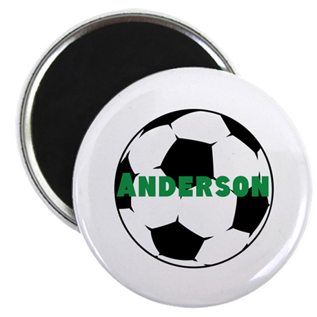 "Personalized Soccer 2.25"" Magnet (100 pack)"