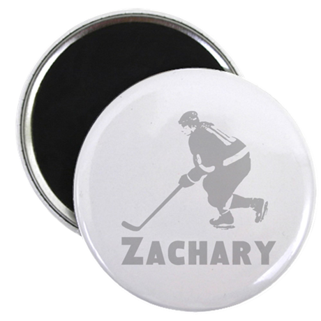 """Personalized Hockey 2.25"""" Magnet (100 pack)"""