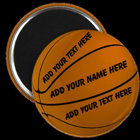 """Basketball 2.25"""" Magnet (100 pack)"""