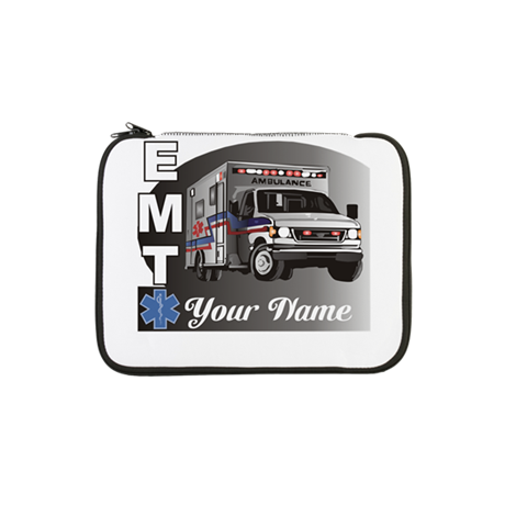 "Custom Personalized EMT 13"" Laptop Sleeve"