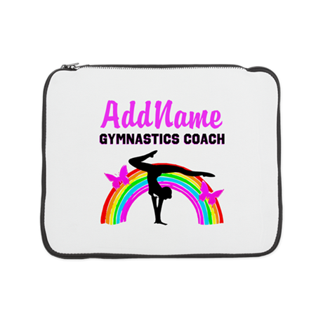 "#1 GYMNAST COACH 15"" Laptop Sleeve"