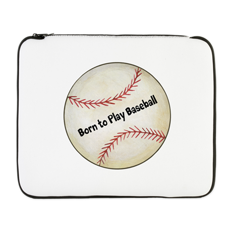 "Baseball 17"" Laptop Sleeve"