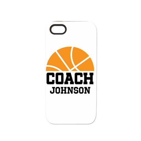 Personalized Basketball Coach Gift iPhone 5/5S Tou