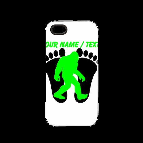 Custom Bigfoot Footprint iPhone 5 Tough Case