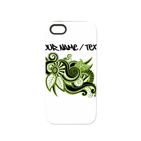 Abstract Green Plant iPhone 5/5S Tough Case