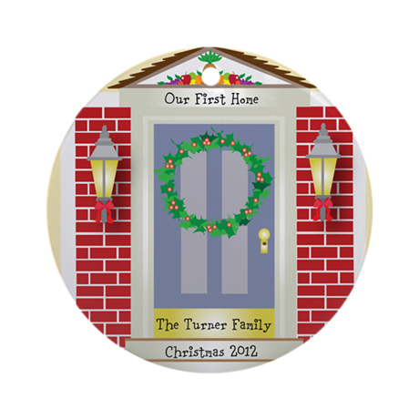 First Home Personalized Christmas Ornament