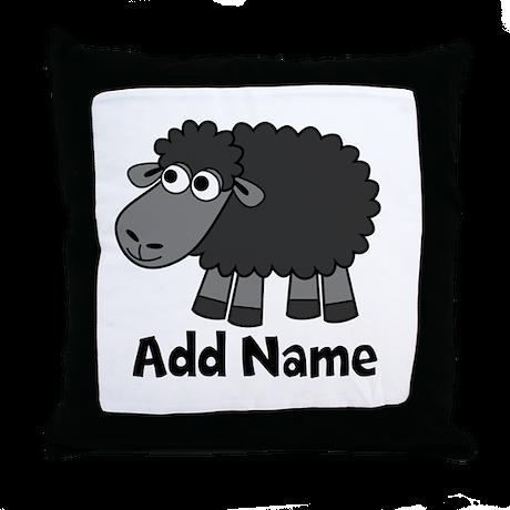 Farm Animal Throw Pillows : Add Name - Farm Animals Throw Pillow by MarshEnterprises