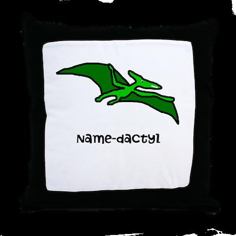 Name your own Pterodactyl! Throw Pillow