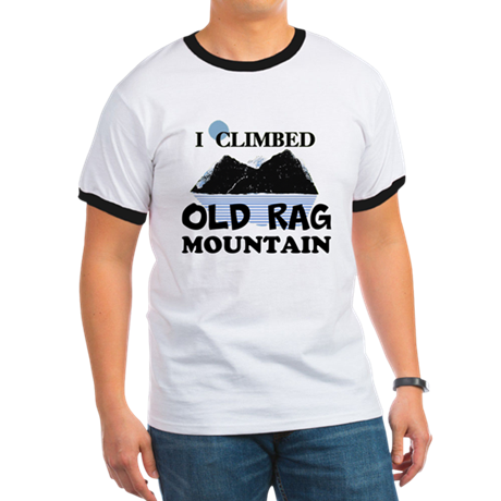 I Climbed Old Rag Mountain Ringer T
