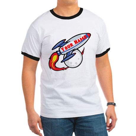Personalized rocket Ringer T