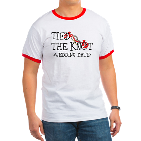 Tied The Knot (Add Wedding Date) Ringer T