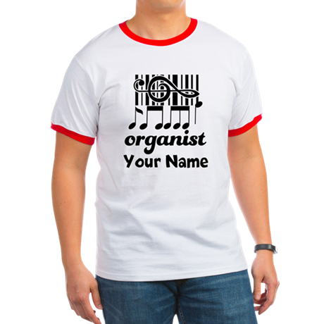 Personalized Organist Ringer T