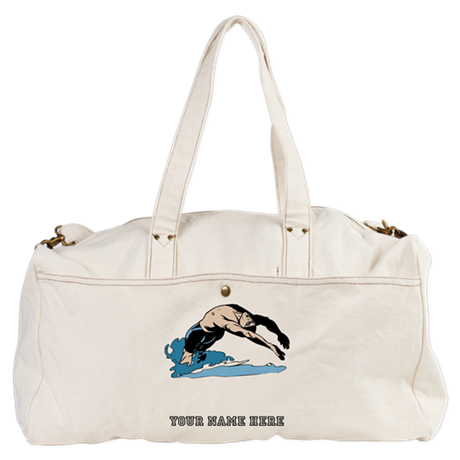 Custom Backstroke Dive Duffel Bag