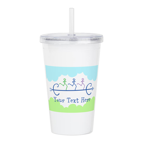 Text Option XC Acrylic Double-wall Tumbler