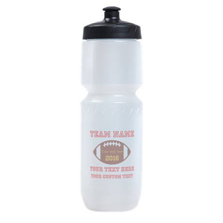 Football Personalized Sports Bottle
