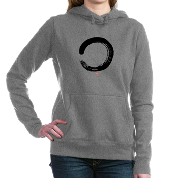 Zen Enso Circle Women's Hooded Sweatshirt