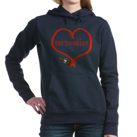 paint heart Hooded Sweatshirt
