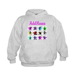 Custom Sparking Gymnast hoodie