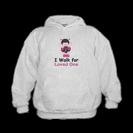 Walk For Ladybug Kids Hoodie