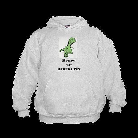 Name - Dinosaur Kids Hoodie