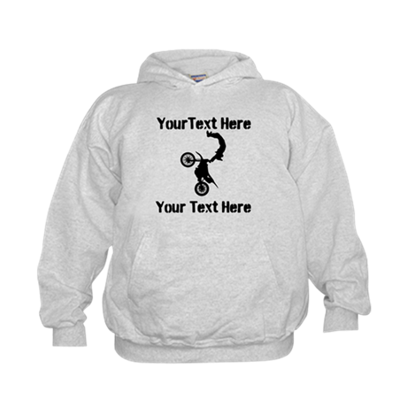 Eat Sleep Jump - Custom Text Kids Hoodie