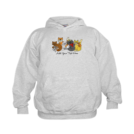 Cats and Kittens Kids Hoodie