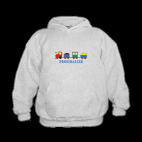 Personalized Kids Choo Choo Train Hoodie