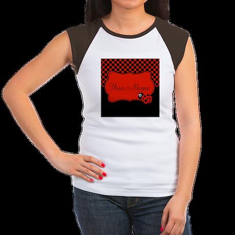 Personalizable Ladybug Polk Dots T-Shirt