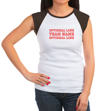 Customizable Sports Women's Cap Sleeve T-Shirt