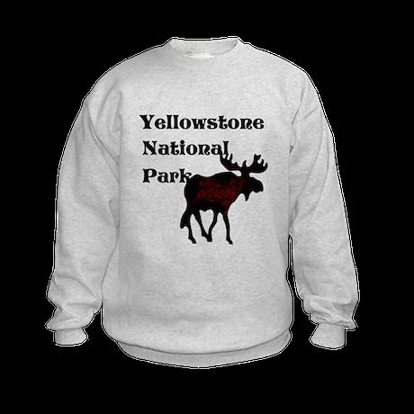 Personalized Moose Kids Sweatshirt
