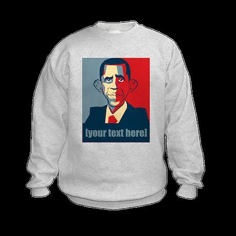 Anti-Obama election 2012 personalized Kids Sweatsh